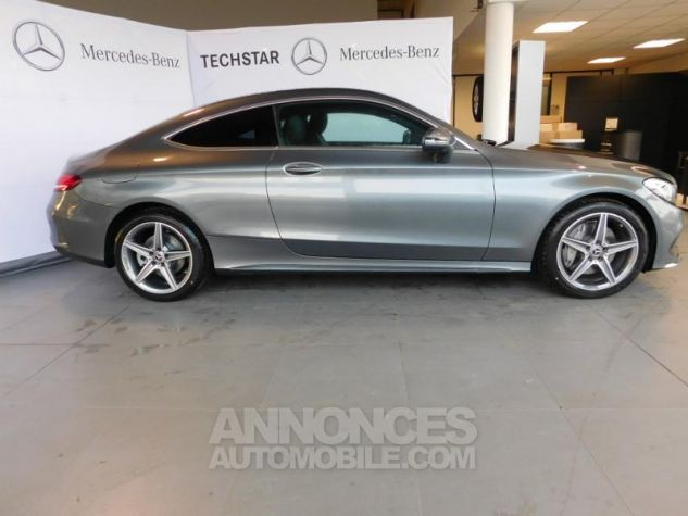 Mercedes Classe C Coupe Sport 250 d 204ch Fascination 9G-Tronic GRIS SELENITE Occasion - 12