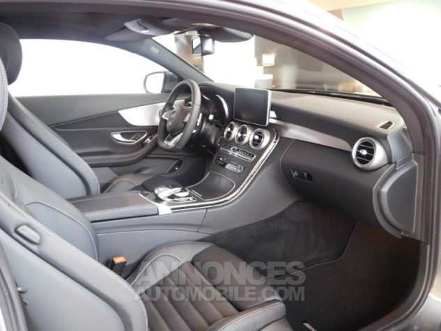Mercedes Classe C Coupe Sport 250 d 204ch Fascination 9G-Tronic GRIS SELENITE Occasion - 14