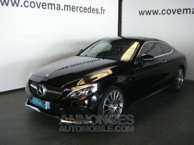 Mercedes Classe C Coupe Sport 250 d 204ch Sportline 9G-Tronic noir obsidienne métal Occasion - 0