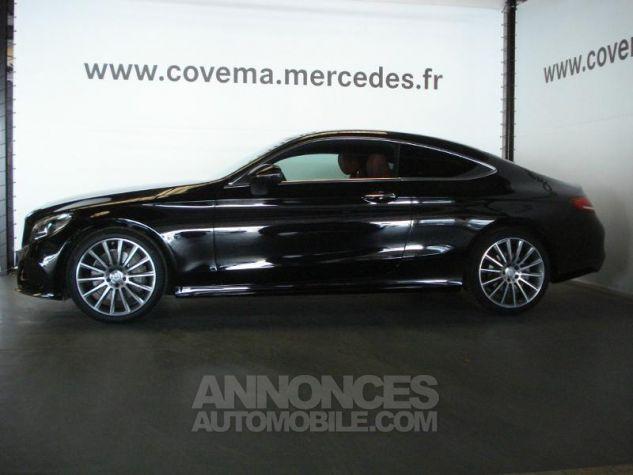 Mercedes Classe C Coupe Sport 250 d 204ch Sportline 9G-Tronic noir obsidienne métal Occasion - 1
