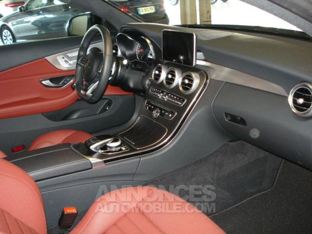 Mercedes Classe C Coupe Sport 250 d 204ch Sportline 9G-Tronic noir obsidienne métal Occasion - 14