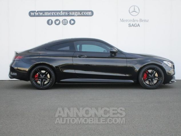 Mercedes Classe C Coupe Sport 63 AMG S 510ch Speedshift MCT NOIR OBSIDIENNE Occasion - 2