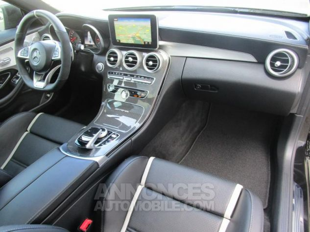 Mercedes Classe C Coupe Sport 63 AMG S 510ch Speedshift MCT NOIR OBSIDIENNE Occasion - 4