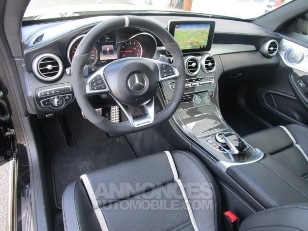 Mercedes Classe C Coupe Sport 63 AMG S 510ch Speedshift MCT NOIR OBSIDIENNE Occasion - 14