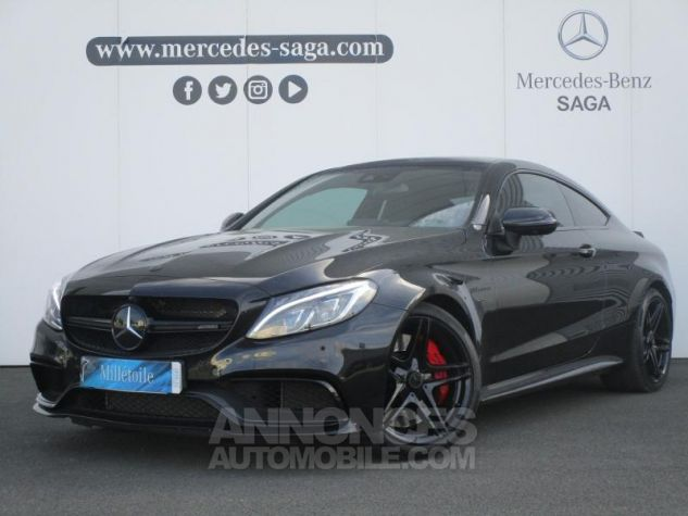 Mercedes Classe C Coupe Sport 63 AMG S 510ch Speedshift MCT NOIR OBSIDIENNE Occasion - 0