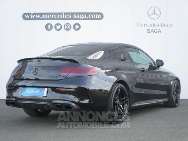 Mercedes Classe C Coupe Sport 63 AMG S 510ch Speedshift MCT NOIR OBSIDIENNE Occasion - 1