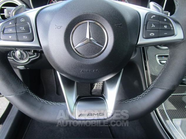 Mercedes Classe C Coupe Sport 63 AMG S 510ch Speedshift MCT NOIR OBSIDIENNE Occasion - 17