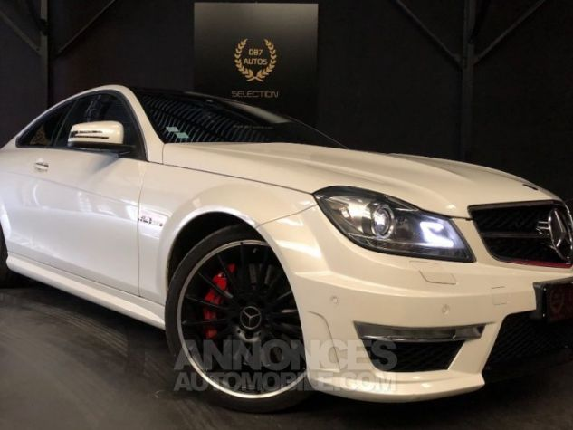 Mercedes Classe C Coupe Sport c63 AMG PACK PERF c 63 BLANC Occasion - 0