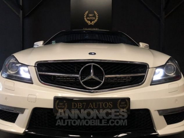 Mercedes Classe C Coupe Sport c63 AMG PACK PERF c 63 BLANC Occasion - 1