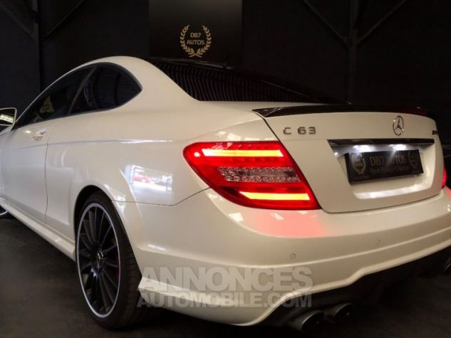 Mercedes Classe C Coupe Sport c63 AMG PACK PERF c 63 BLANC Occasion - 2