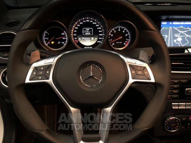 Mercedes Classe C Coupe Sport c63 AMG PACK PERF c 63 BLANC Occasion - 6