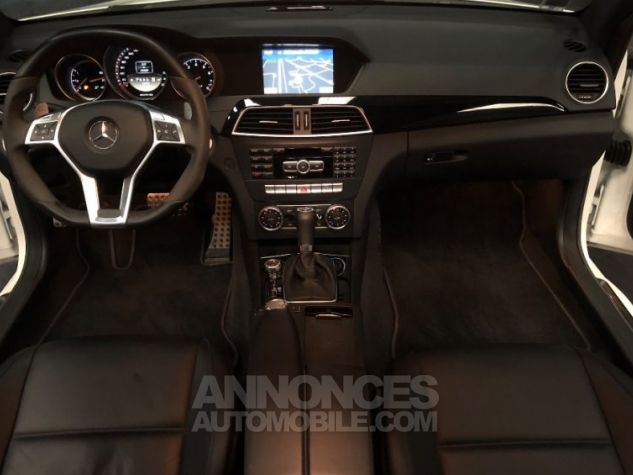 Mercedes Classe C Coupe Sport c63 AMG PACK PERF c 63 BLANC Occasion - 8