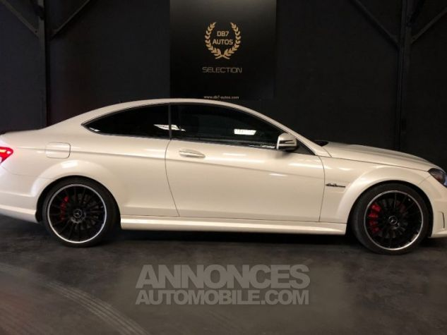 Mercedes Classe C Coupe Sport c63 AMG PACK PERF c 63 BLANC Occasion - 17