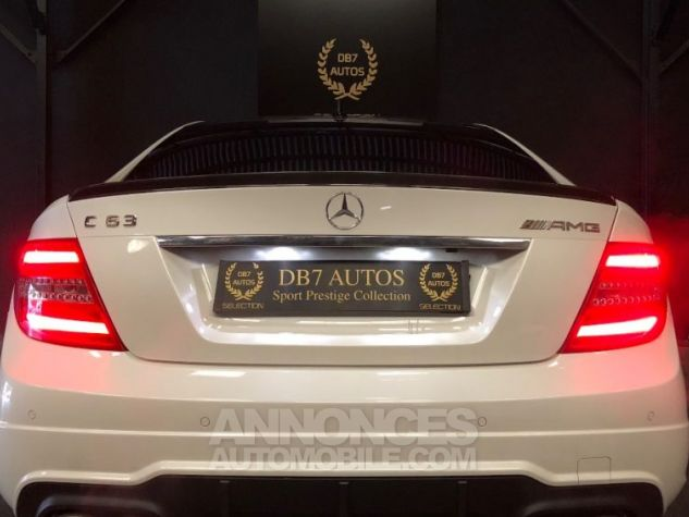 Mercedes Classe C Coupe Sport c63 AMG PACK PERF c 63 BLANC Occasion - 18