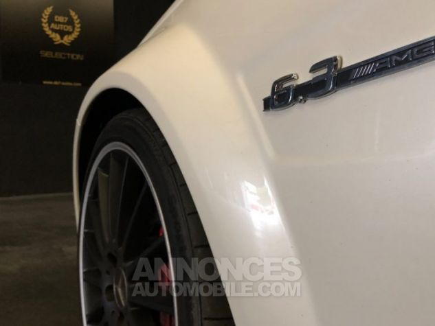 Mercedes Classe C Coupe Sport c63 AMG PACK PERF c 63 BLANC Occasion - 20
