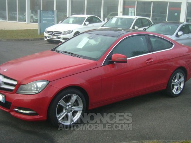 Mercedes Classe C III COUPE 220 CDI BLUEEFFICIENCY EXECUTIVE rouge Occasion - 4