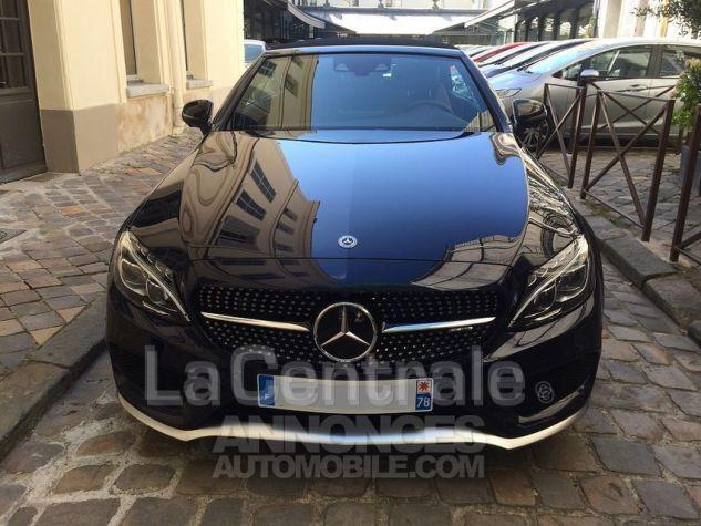 Mercedes Classe C IV CABRIOLET 43 AMG 4MATIC Bleu Marine Metal Occasion - 3