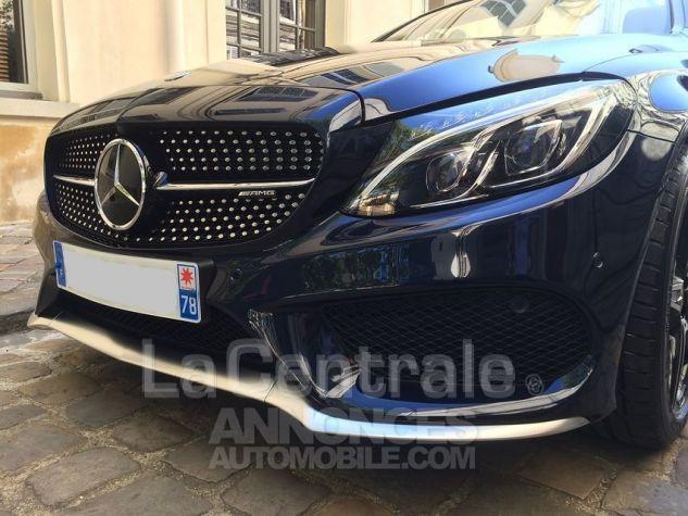 Mercedes Classe C IV CABRIOLET 43 AMG 4MATIC Bleu Marine Metal Occasion - 10