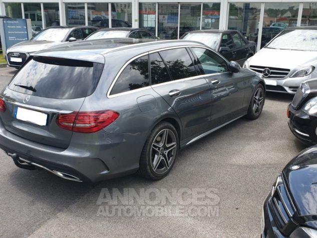 Mercedes Classe C IV SW 220 D 9G-TRONIC gris métal. Occasion - 2