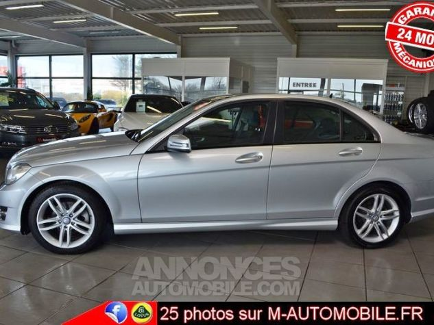Mercedes Classe C W204 180 CDI BUSINESS EXECUTIVE AMG GRIS Occasion - 5