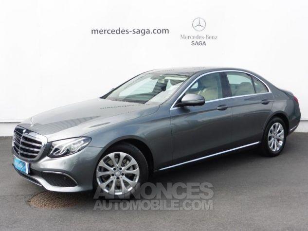 Mercedes Classe E 200 d 150ch Executive 9G-Tronic GRIS SELENITE Occasion - 0