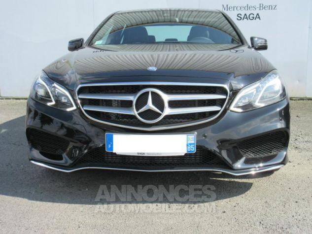 Mercedes Classe E 220 BlueTEC Sportline 9G-Tronic NOIR OBSIDIENNE Occasion - 2