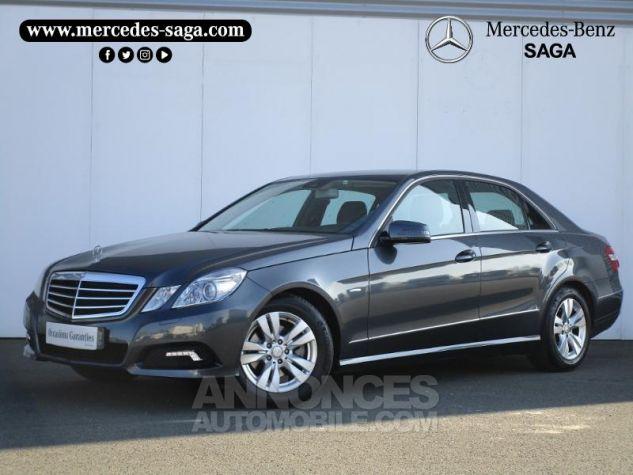 Mercedes Classe E 220 CDI BE Avantgarde Ex ZP GRIS TENORITE Occasion - 0