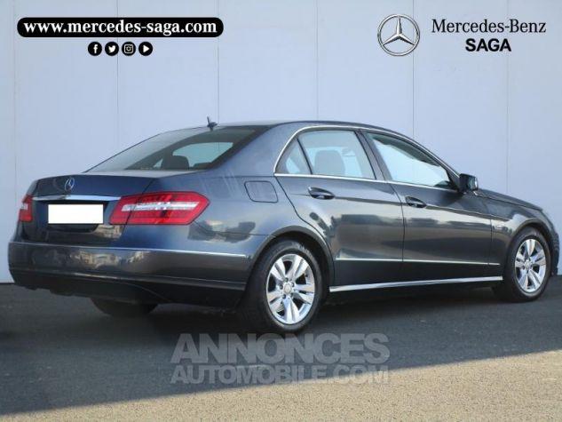 Mercedes Classe E 220 CDI BE Avantgarde Ex ZP GRIS TENORITE Occasion - 1