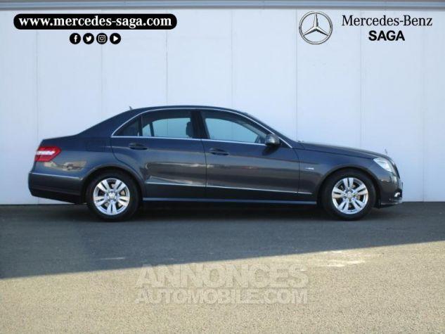 Mercedes Classe E 220 CDI BE Avantgarde Ex ZP GRIS TENORITE Occasion - 2
