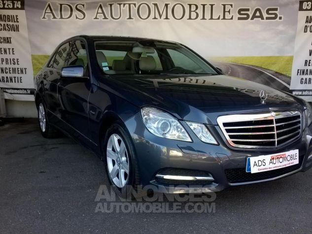 Mercedes Classe E 220 CDI BLUEEFFICIENCY Avantgarde Executive Gris Occasion - 0
