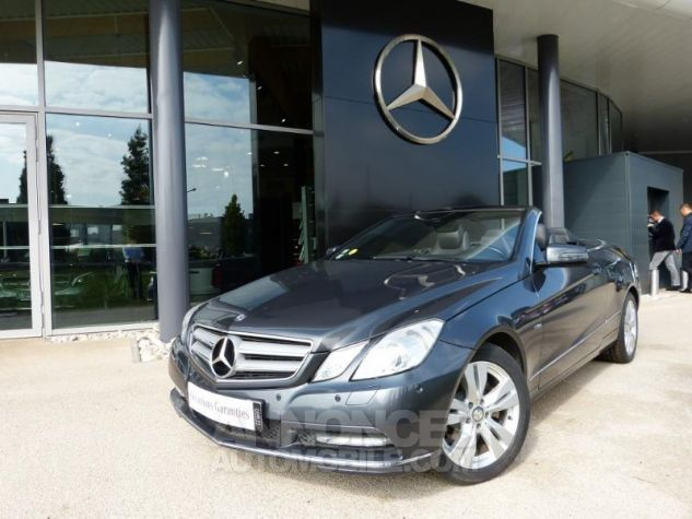Mercedes Classe E 220 CDI Executive BE 7GTro+ GRIS Occasion - 0