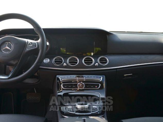 Mercedes Classe E 220 d 194ch Business Executive 9G-Tronic Gris Foncé Métal Occasion - 11