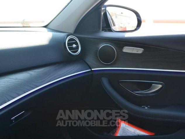 Mercedes Classe E 220 d 194ch Business Executive 9G-Tronic Gris Foncé Métal Occasion - 17