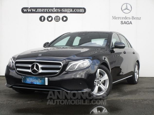 Mercedes Classe E 220 d 194ch Executive 9G-Tronic Noir obsidienne Occasion - 0