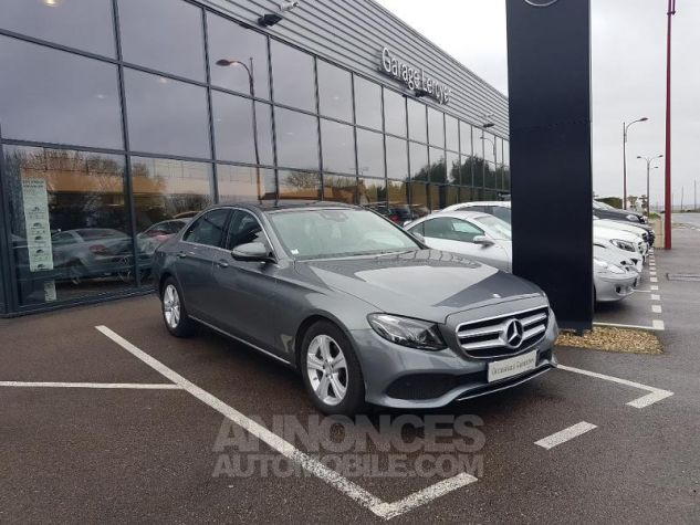 Mercedes Classe E 220 d 194ch Executive 9G-Tronic GRIS SELENITE Occasion - 0
