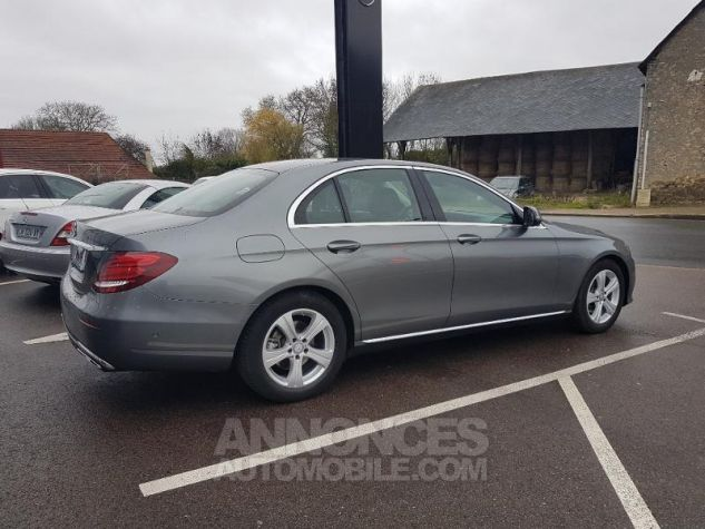 Mercedes Classe E 220 d 194ch Executive 9G-Tronic GRIS SELENITE Occasion - 1