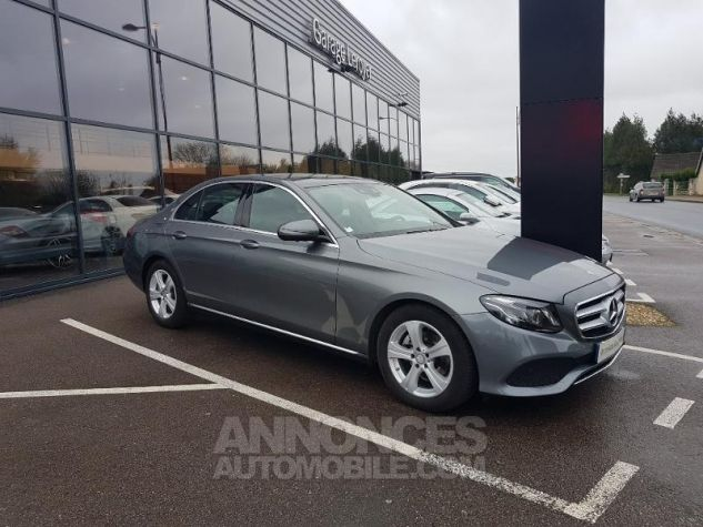 Mercedes Classe E 220 d 194ch Executive 9G-Tronic GRIS SELENITE Occasion - 9