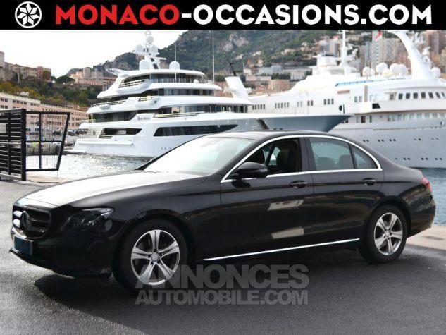 Mercedes Classe E 220 d 194ch Executive 9G-Tronic Noir Occasion - 0