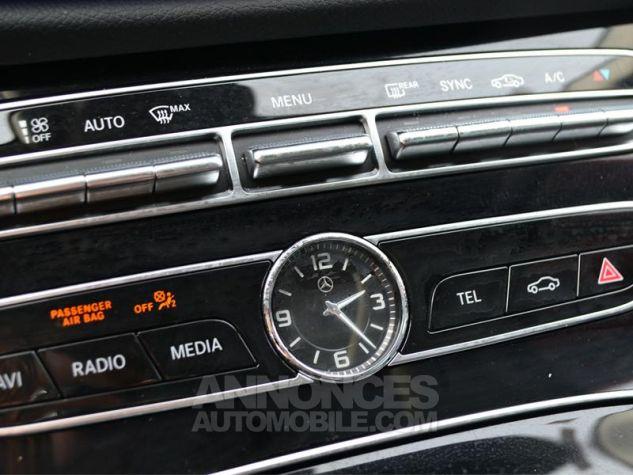 Mercedes Classe E 220 d 194ch Executive 9G-Tronic Noir Occasion - 15