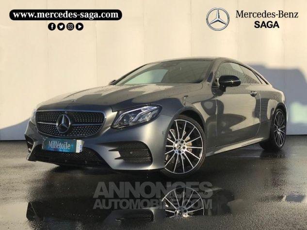 Mercedes Classe E 220 d 194ch Fascination 9G-Tronic GRIS SELENITE Occasion - 0