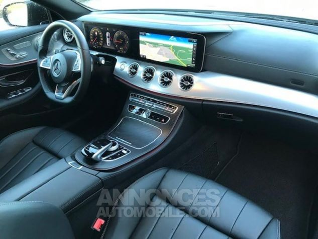 Mercedes Classe E 220 d 194ch Fascination 9G-Tronic GRIS SELENITE Occasion - 4