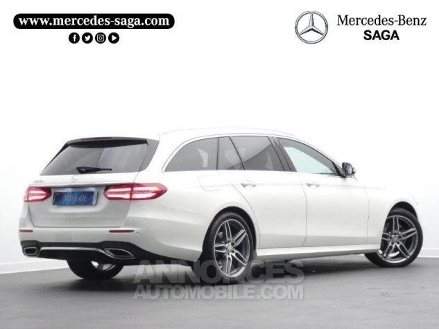 Mercedes Classe E 220 d 194ch Sportline 9G-Tronic Blanc Diamant Occasion - 1