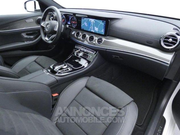 Mercedes Classe E 220 d 194ch Sportline 9G-Tronic Blanc Diamant Occasion - 3