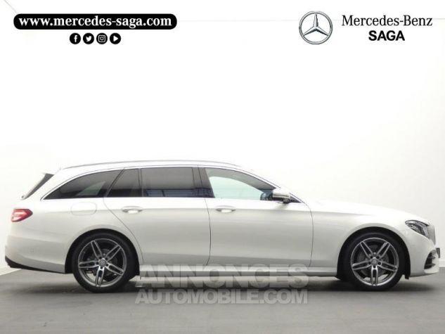 Mercedes Classe E 220 d 194ch Sportline 9G-Tronic Blanc Diamant Occasion - 6