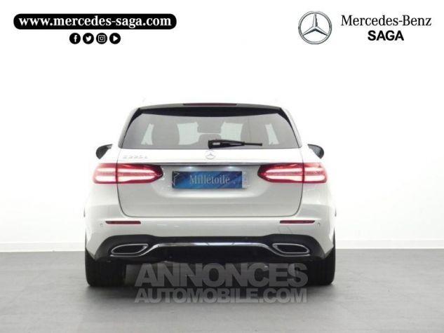 Mercedes Classe E 220 d 194ch Sportline 9G-Tronic Blanc Diamant Occasion - 7