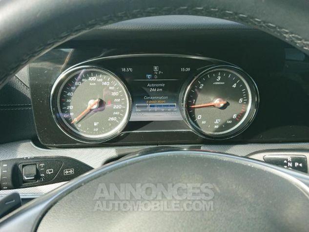 Mercedes Classe E 220 d 194ch Sportline 9G-Tronic Noir obsidienne métallisé Occasion - 11