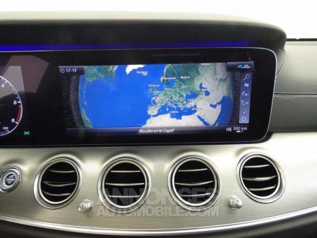 Mercedes Classe E 220 d 194ch Sportline 9G-Tronic Euro6d-T NOIR OBSIDIENNE Occasion - 10