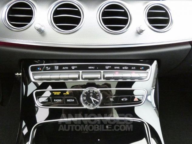 Mercedes Classe E 220 d 194ch Sportline 9G-Tronic Euro6d-T NOIR OBSIDIENNE Occasion - 12