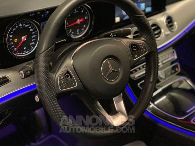 Mercedes Classe E 220 d 9G-Tronic 4-Matic Executive GRIS Occasion - 9