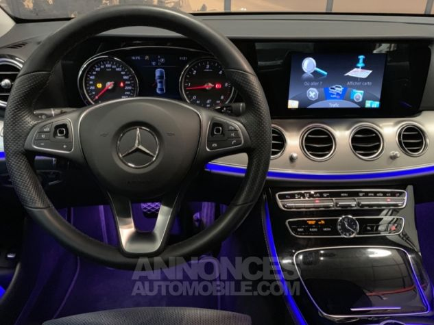Mercedes Classe E 220 d 9G-Tronic 4-Matic Executive GRIS Occasion - 10